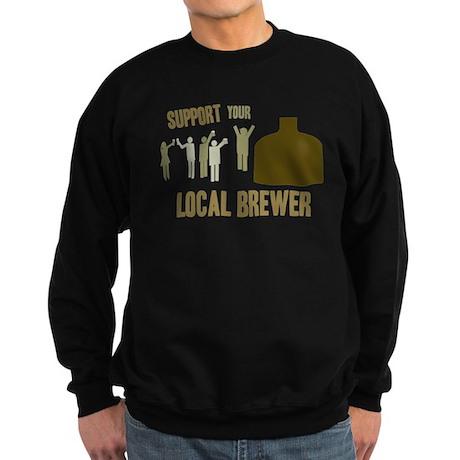 Support Your Local Brewer Sweatshirt (dark)