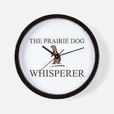 The Prairie Dog Whisperer Wall Clock