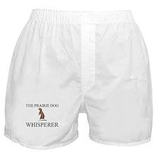 The Prairie Dog Whisperer Boxer Shorts