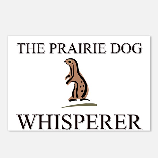 The Prairie Dog Whisperer Postcards (Package of 8)