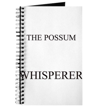 The Possum Whisperer Journal