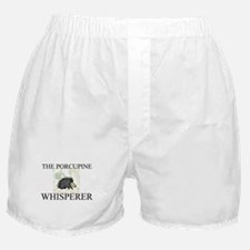 The Porcupine Whisperer Boxer Shorts