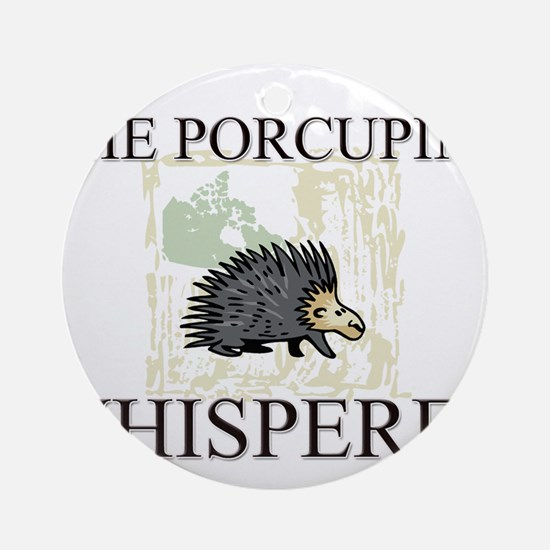 The Porcupine Whisperer Ornament (Round)