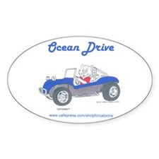 Catoons Oval Decal