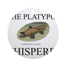 The Platypus Whisperer Ornament (Round)