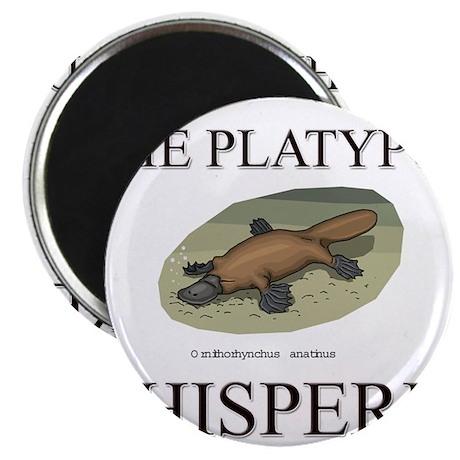 The Platypus Whisperer Magnet