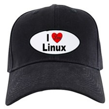 I Love Linux Baseball Hat