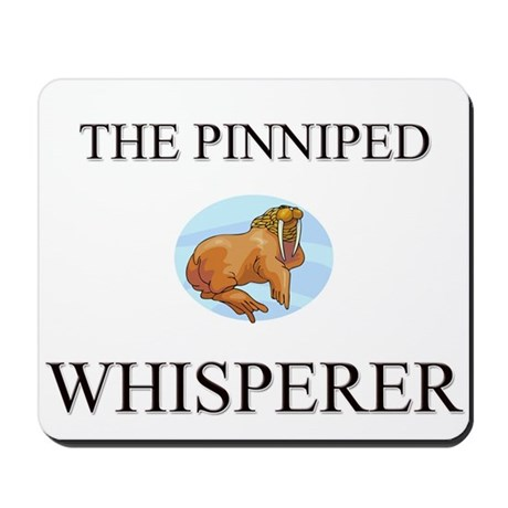 The Pinniped Whisperer Mousepad