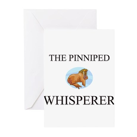 The Pinniped Whisperer Greeting Cards (Pk of 10)