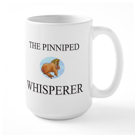 The Pinniped Whisperer Large Mug