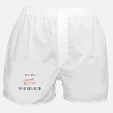The Pig Whisperer Boxer Shorts