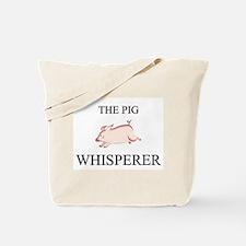 The Pig Whisperer Tote Bag