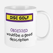 Obsessed Mug (Purple and Yellow)