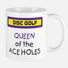 Queen of the Ace Holes Mug (Purple & Yellow)