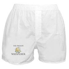 The Pigeon Whisperer Boxer Shorts