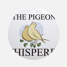 The Pigeon Whisperer Ornament (Round)