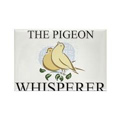 The Pigeon Whisperer Rectangle Magnet (10 pack)