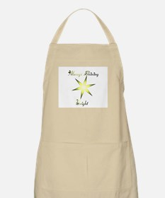 Shining Bright BBQ Apron
