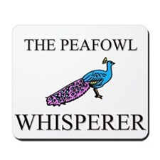 The Peafowl Whisperer Mousepad