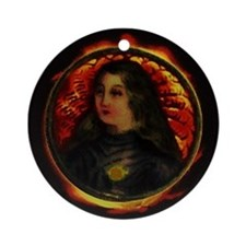 Joan of Arc Ornament (Round)