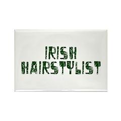 Irish Hairstylist Rectangle Magnet (100 pack)