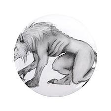 """Werewolf 3.5"""" Button"""