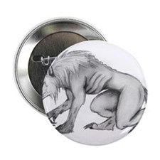 """Werewolf 2.25"""" Button"""
