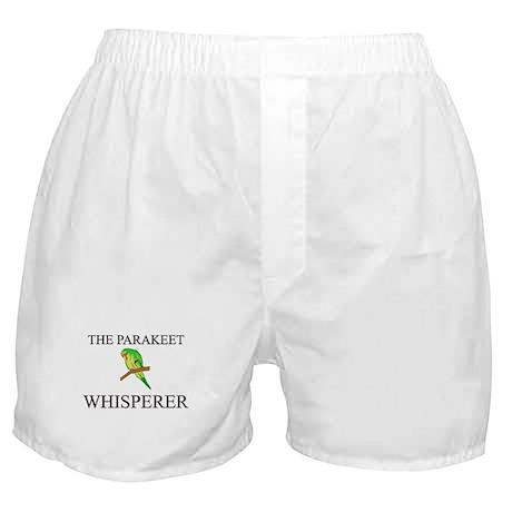 The Parakeet Whisperer Boxer Shorts