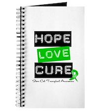 SCT Survivor Heart Ribbon Journal