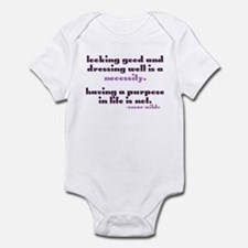 Dressing Well is a Necessity Infant Bodysuit