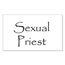 Sexual Priest Rectangle Decal