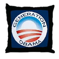 "Generation ""O"" Throw Pillow"