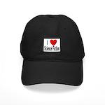 I Love Science Fiction Black Cap