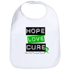 SCTSurvivor HopeLoveCure Bib