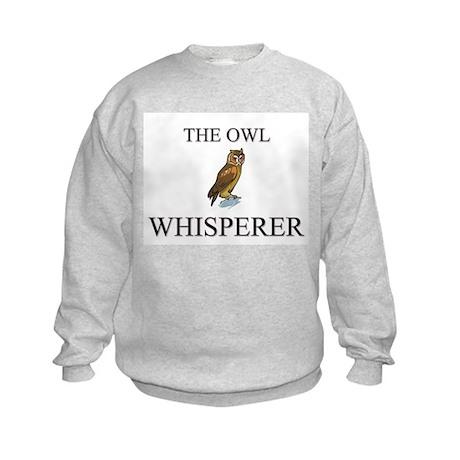 The Owl Whisperer Kids Sweatshirt