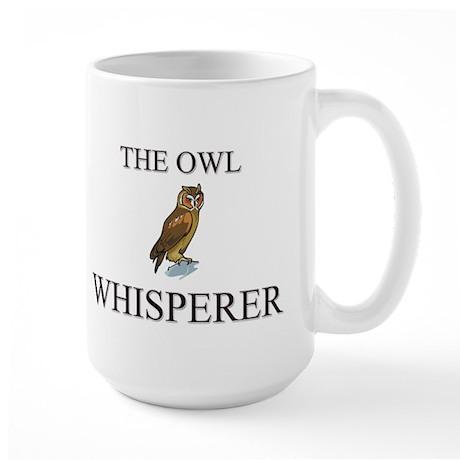 The Owl Whisperer Large Mug