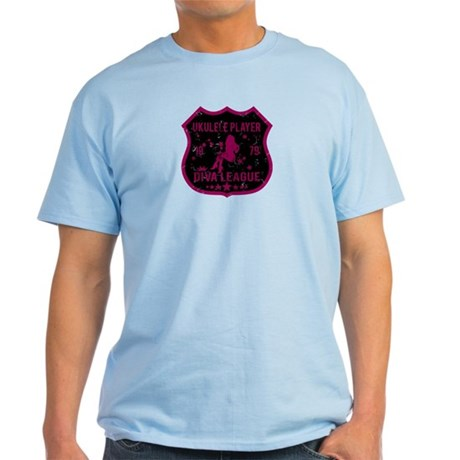 Ukulele Player Diva League Light T-Shirt