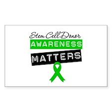 SCTDonorAwarenessMatters Rectangle Decal