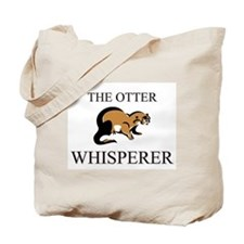 The Otter Whisperer Tote Bag