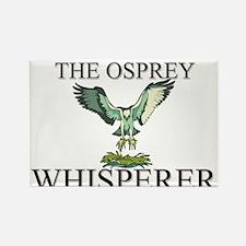 The Osprey Whisperer Rectangle Magnet