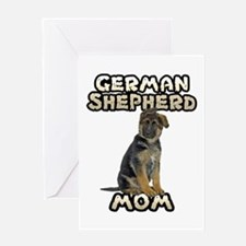 German Shepherd Mom Greeting Card