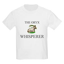 The Oryx Whisperer Kids Light T-Shirt