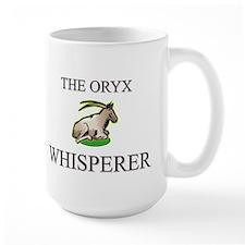 The Oryx Whisperer Large Mug