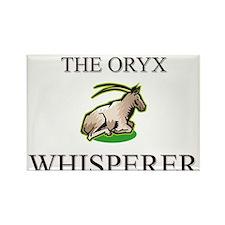 The Oryx Whisperer Rectangle Magnet