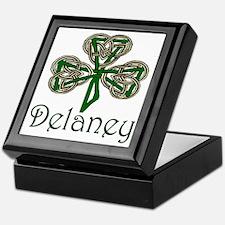 Delaney Shamrock Keepsake Box
