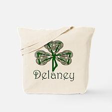 Delaney Shamrock Tote Bag