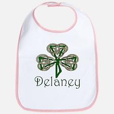 Delaney Shamrock Bib
