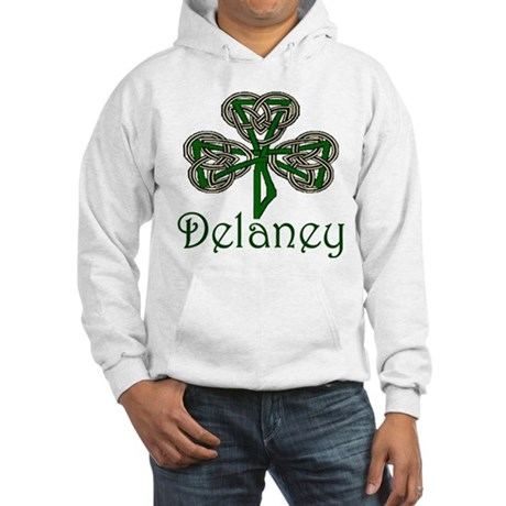 Delaney Shamrock Hooded Sweatshirt