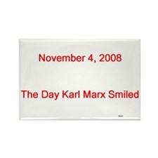 Karl Marx Rectangle Magnet