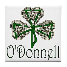 O'Donnell Shamrock Tile Coaster